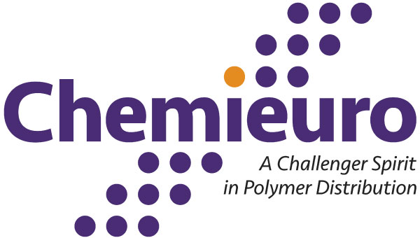 Chemieuro. Brand center. Logo. Main Application. With Slogan. JPG